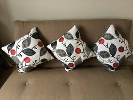Various cushions for sale - will sell as one lot or individually