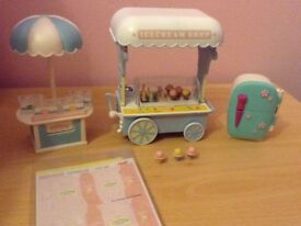 Sylvanian families Ice cream trailer.