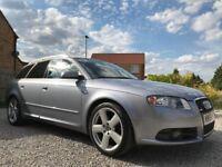 ~ 2007 Audi A4 Sport 1.9 Tdi Avant ~ S-Line 115 Estate ~