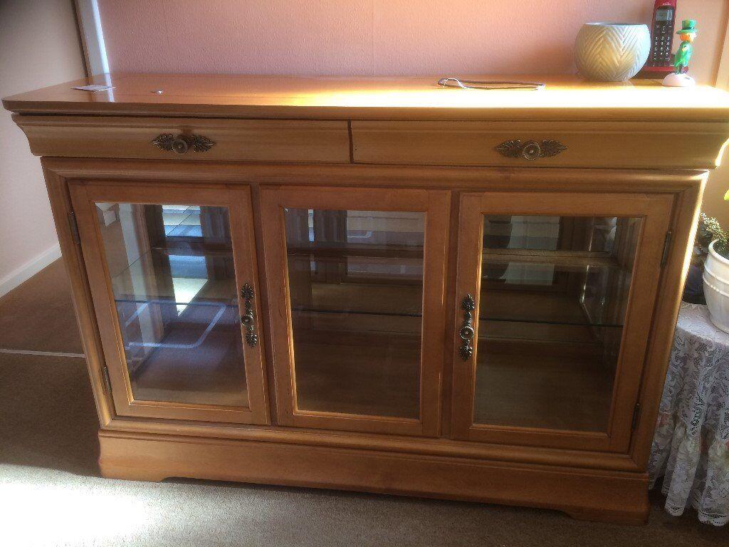 large display cabinet/sideboard
