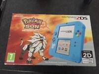 Pokemon Sun 2ds console