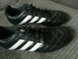 Addias boots size 10 worn once
