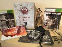 RARE Tomb Raider Special Survival Edition Xbox 360 Game & More