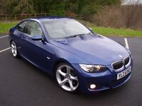BMW 335D M-SPORT COUPE * TWIN TURBO * 286BHP * M3 M5 GTI R32 RANGE ROVER RS ST EVO ML