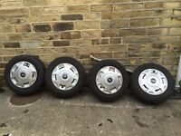 Ford transit alloys and tyres good thread