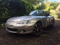 Mazda MX5 Mk2.5 1.6 2004, New MOT! NB