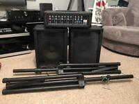 T.amp PA 4080 Package Stand Set