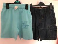 2 Pairs Boys Shorts 7-8yrs