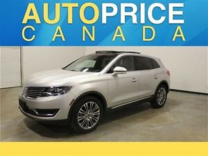 2016 Lincoln MKX Reserve PANOROOF NAVIGATION LEATHER