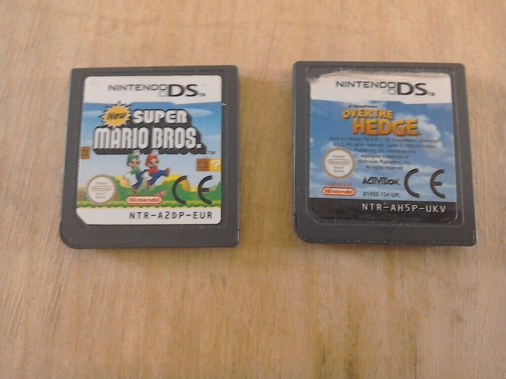Super mario and over the hedge ds games | in Kilbirnie, North Ayrshire |  Gumtree