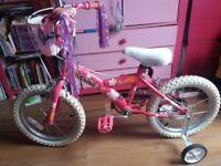 "16"" girls bike great condition"