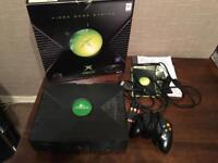 Microsoft Original Xbox Console 2006 Rare Edition Boxed