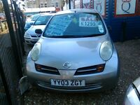 1000 cc Nissan micro 2 door only 59.000 miles one owner from new
