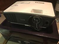 Amazing Benq w750 3D HQ 720p projector - as new