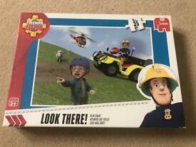 35 piece Fireman Sam Puzzle