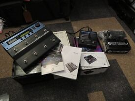 TC Electronics Voice Live One and Guitar Harmony Control Plus Expression Pedal