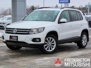 2014 Volkswagen Tiguan COMFORTLINE   AWD   HEATED LEATHER   SUNR