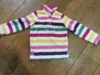 Joules fleece pullover Aged 8