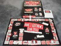 HAVE I GOT NEWS FOR YOU BOARD GAME - FROM THE AWARD WINNING TV SERIES