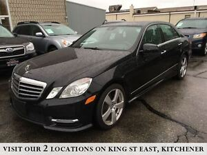 2013 Mercedes-Benz E-Class E350 | NO ACCIDENTS | NAVIGATION | CA Kitchener / Waterloo Kitchener Area image 1