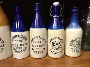$$$$WANTED CAPE BRETON GINGER BEER BOTTLES BEST PRICES PAID$$$$