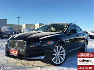 2013 Jaguar XF 3.0L**AWD**LEATHER**NAVIGATION**SUNROOF**