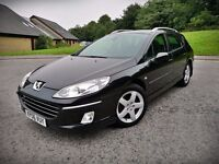 2006 PEUGEOT 407...ONLY 2 OWNERS...TOP RANGE...LOW MILEAGE...LONG MOT(NO ADVISORY)