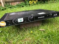 Phonic Max500 240W Amplifier