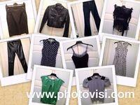 Womens size 8 various smart clothes bundle - 10 items - jeans, trousers, tops