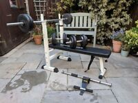 Weights Rack Including Accessories