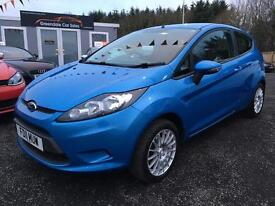 2011 Ford Fiesta 1.2 12 months warranty Finance available only £93 per month!