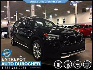 2012 BMW X1 28i/CUIR/TOIT PANORAMIC/MAGS/AWD