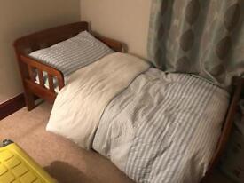 John Lewis . Toddlers bed.