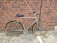 1980 Raleigh Sprite Vintage Cruiser Bike 59cm Large British Steel good condition and fully working