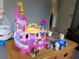 Fisherprice little people princess castle and carriage