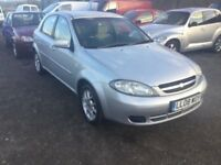 2008 CHEVROLET LACETTI LOW MILEAGE CAR 16 ENGINE IN SILVER ALLOYS NICE CLEAN CAR IN AND OUT ANYTRIAL