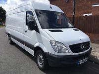 2013 MERCEDES SPRINTER 313 CDI LWB.1 OWNER.LOW MILES.FULL SERVICE HISTORY.BRILLIANT DRIVE.57K MILES.