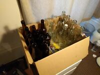 20 Various Glass Bottles
