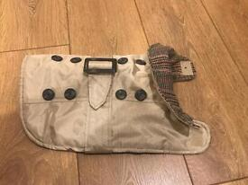 Beige dogs jacket - small - never been used
