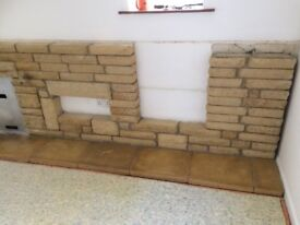 Mock Purbeck / Cotswold stone blocks in good condition, perfect for borders or a feature.