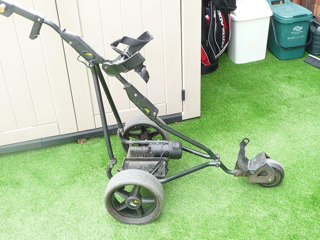 Powakaddy golf trolley, old style digital model    in Paisley, Renfrewshire    Gumtree