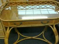Wicker dressing table ##27743 £49