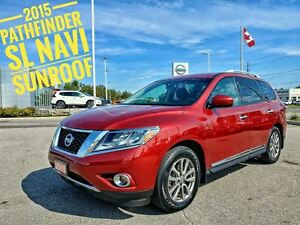 2015 Nissan Pathfinder SL Navigation Sunroof  FREE Delivery
