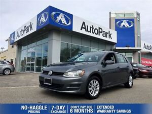 2015 Volkswagen Golf Trendline/BLUETOOTH/MP3/HEATED SEATS/SUNROO