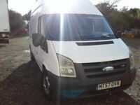 FORD TRANSIT 2007 MK7 LWB HIGH ROOF