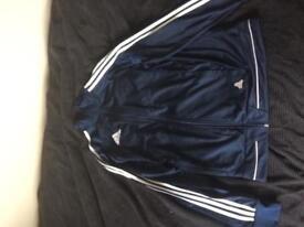 Medium Adidas tango half zip hoodie