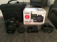 Canon EOS 750D with EF-S 18-55 IS STM Lens kit