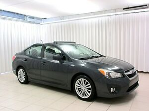 2012 Subaru Impreza SYMMETRICAL AWD SEDAN w/ SUNROOF, HEATED SEA