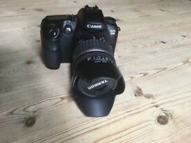 Canon D30 Body and Tamron 18mm-200mm Lens