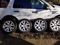 "landrover alloys 19"" set of 4"